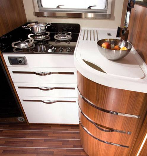 Mobilvetta Krosser P97 - Interior