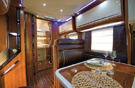 Mobilvetta Krosser P99 - Interior