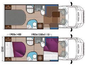 Mobilvetta Krosser P99 - Plano - Distribución