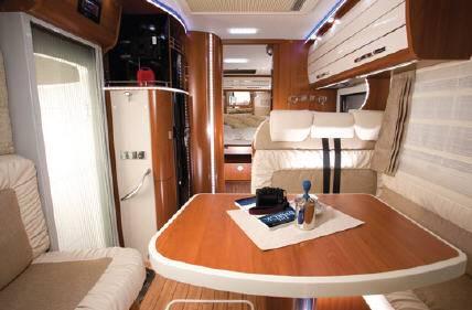 Mobilvetta K-Yacht MH85 - Interior