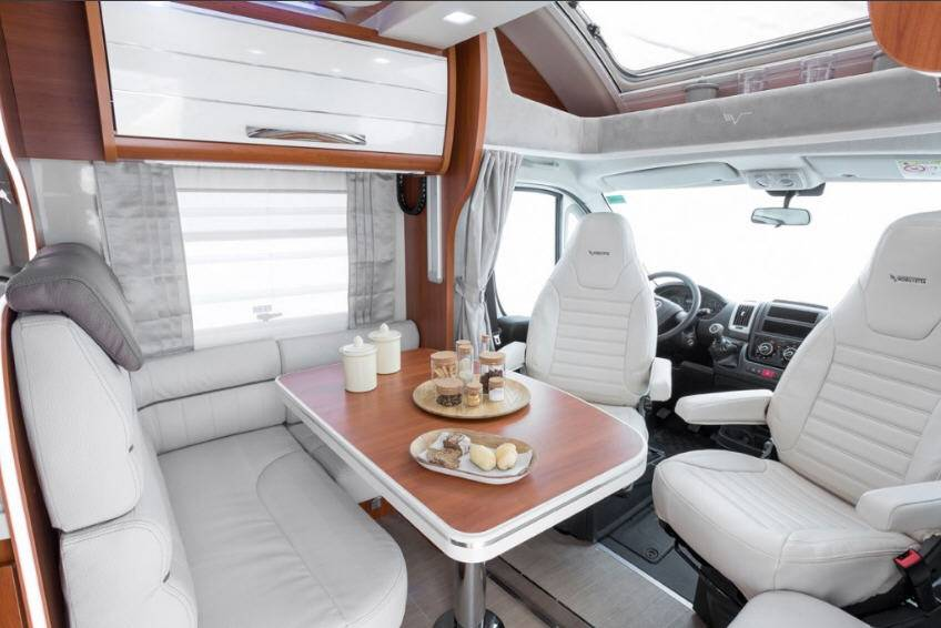 Mobilvetta Kea P62 - Interior