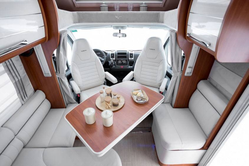 Mobilvetta Kea P69 - Interior