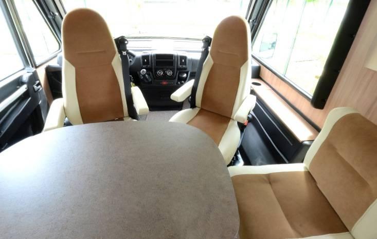 Pilote Aventura G 600 LGA - Interior
