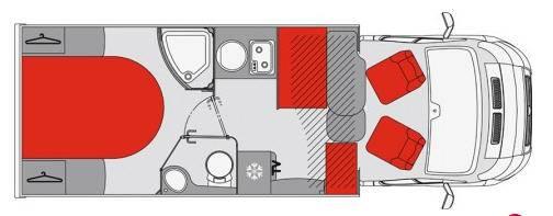 Pilote Pacific P706C Essentiel - Plano - Distribución