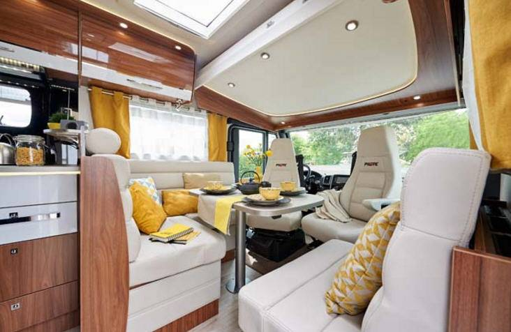 Pilote Galaxy G 741 J Sensation - Interior