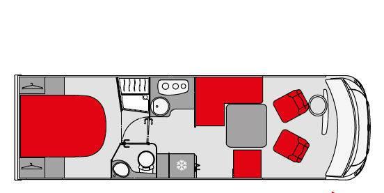 Pilote Galaxy G 781 C Emotion - Plano - Distribución