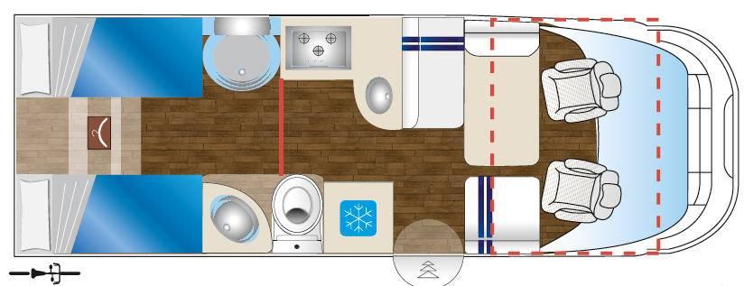 Pla Monosocca Bruneleschi MH 44 - Plano - Distribución