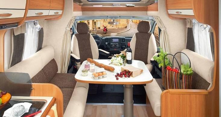 Rapido Serie 6 646 - Interior