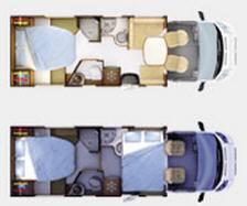 Rapido Serie 6 691 FF Design Edition - Plano - Distribución