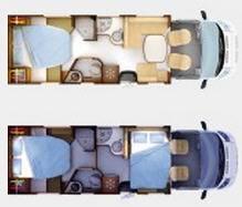 Rapido Serie 7 791 FF Alko - Plano - Distribución