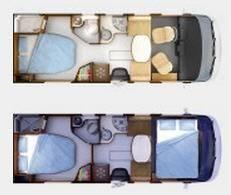 Rapido Serie 8 890 F - Plano - Distribución