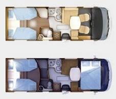 Rapido Serie 9 9066 dF - Plano - Distribución
