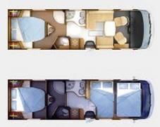 Rapido Serie 10 10001 dFH Design Edition - Plano - Distribución