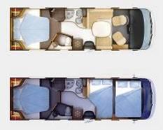 Rapido Serie 9 9 MH - Plano - Distribución