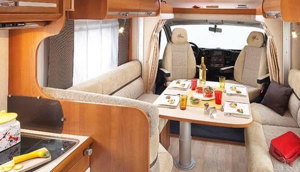 Rapido Serie 6 600 FF - Interior