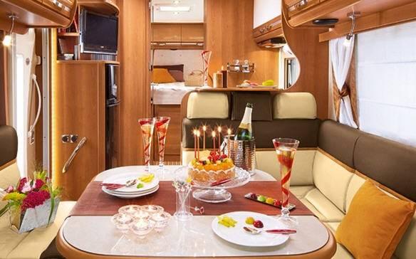 Rapido Serie 7 7091 FF - Interior