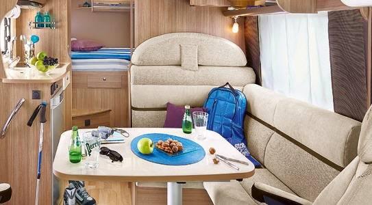 Rapido Serie 8 803 F - Interior