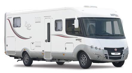 Rapido Serie 9 9000 dFH Design Edition - Exterior