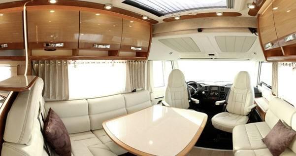 Rapido Serie 10 10001 dFH Design Edition - Interior