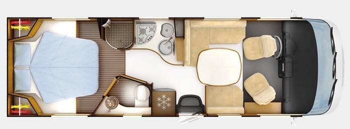 Rapido Serie 9 990 MHV Design Edition - Plano - Distribución