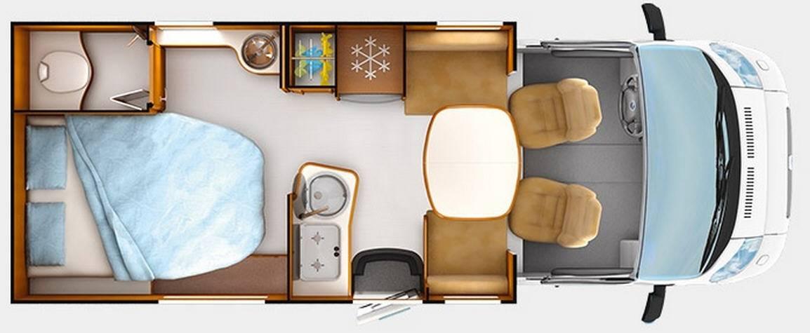 autocaravana rapido serie 6 640 modelo de 2015. Black Bedroom Furniture Sets. Home Design Ideas