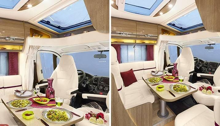 Rapido Serie 6 680 - Interior