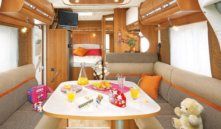 Rapido Serie 6 676 FF - Interior