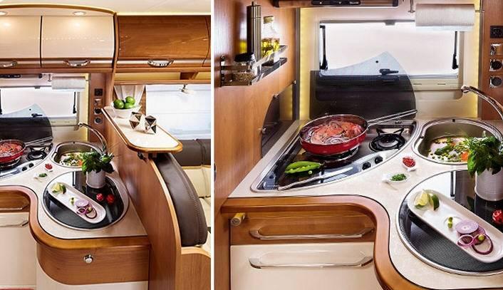 Rapido Serie 7 7090 DF - Interior
