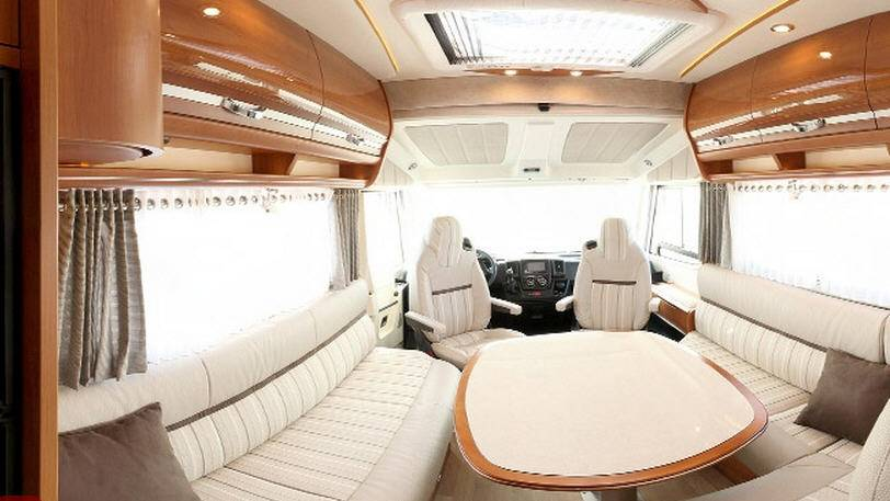 Rapido Serie 9 9048 DF Fiat ALKO / 35L / 130 - Interior