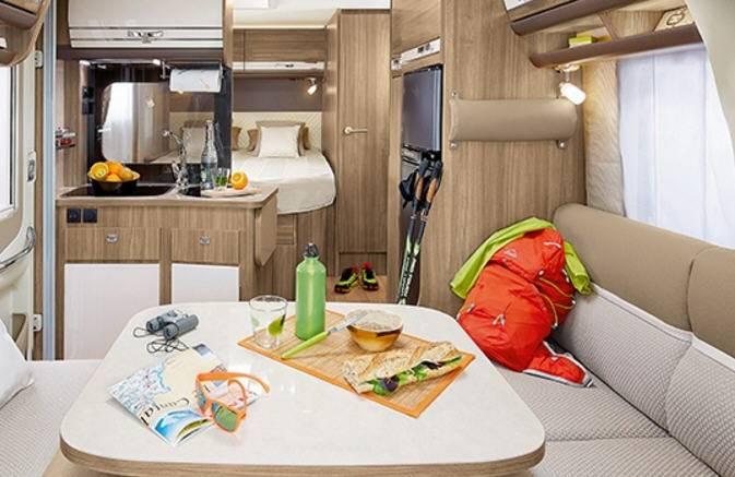 Rapido Serie 6 640 - Interior