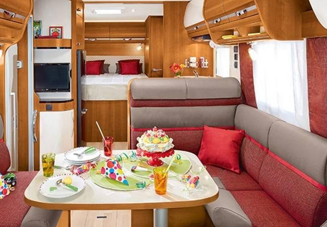 Rapido Serie 8 850 F - Interior