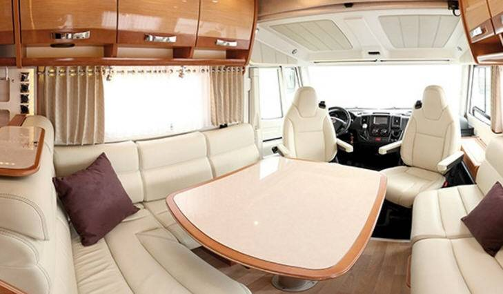 Rapido Serie 10 10001 dFH Alde Design Edition - Interior