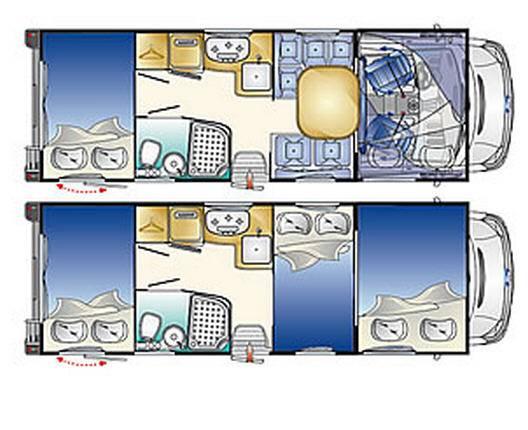 Rimor Nemho 58 - Plano - Distribución