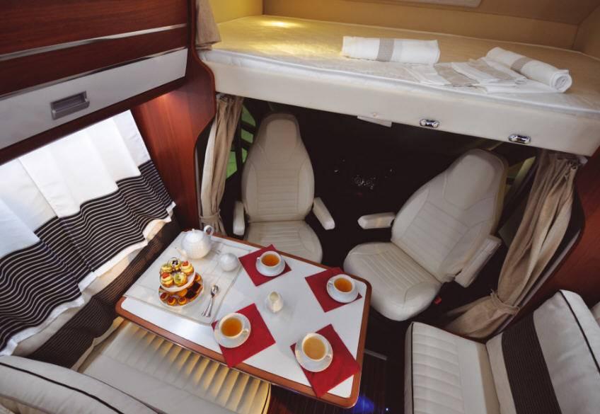 Rimor Super Brig Suite - Interior