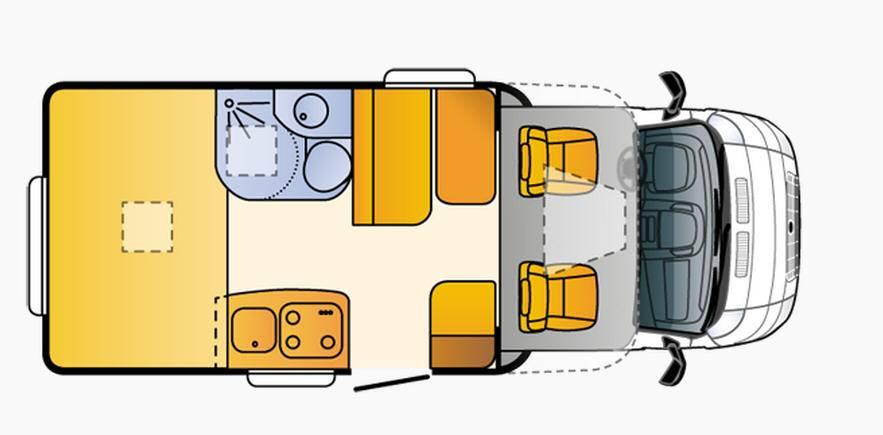 Sun Living Lido S 35 SP - Plano - Distribución