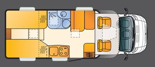 Sun Living Lido S 42 SL - Plano - Distribución