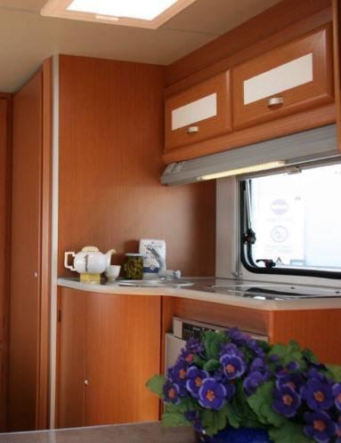 Across Safari 540LC - Interior