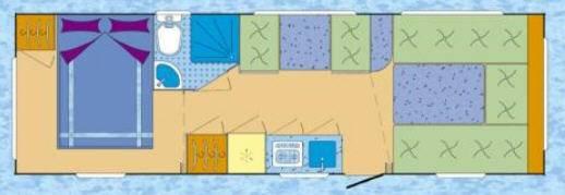 Across Luxor 720DDC - Plano - Distribución