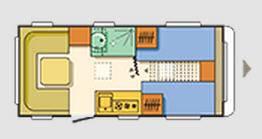 Adria Altea 472 LU - Plano - Distribución
