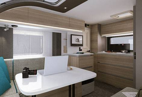 Adria Altea 4 Four - Interior