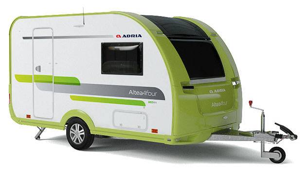 Adria Altea 4 Four-Go Colour - Exterior