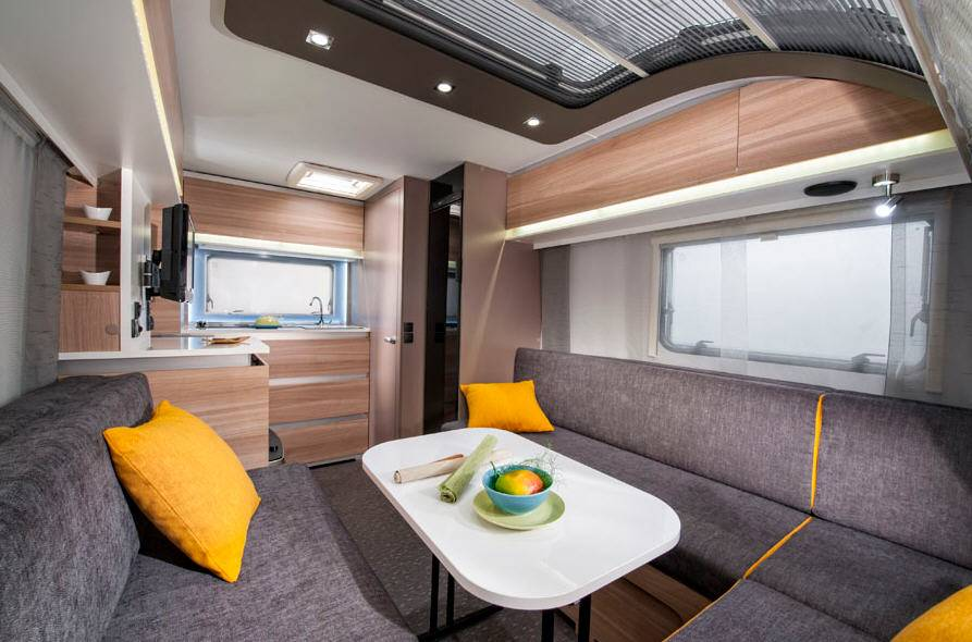 Adria Altea 4 Four-Go Colour - Interior