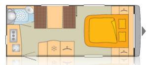 Bürstner AVERSO 470 TS - Plano - Distribución