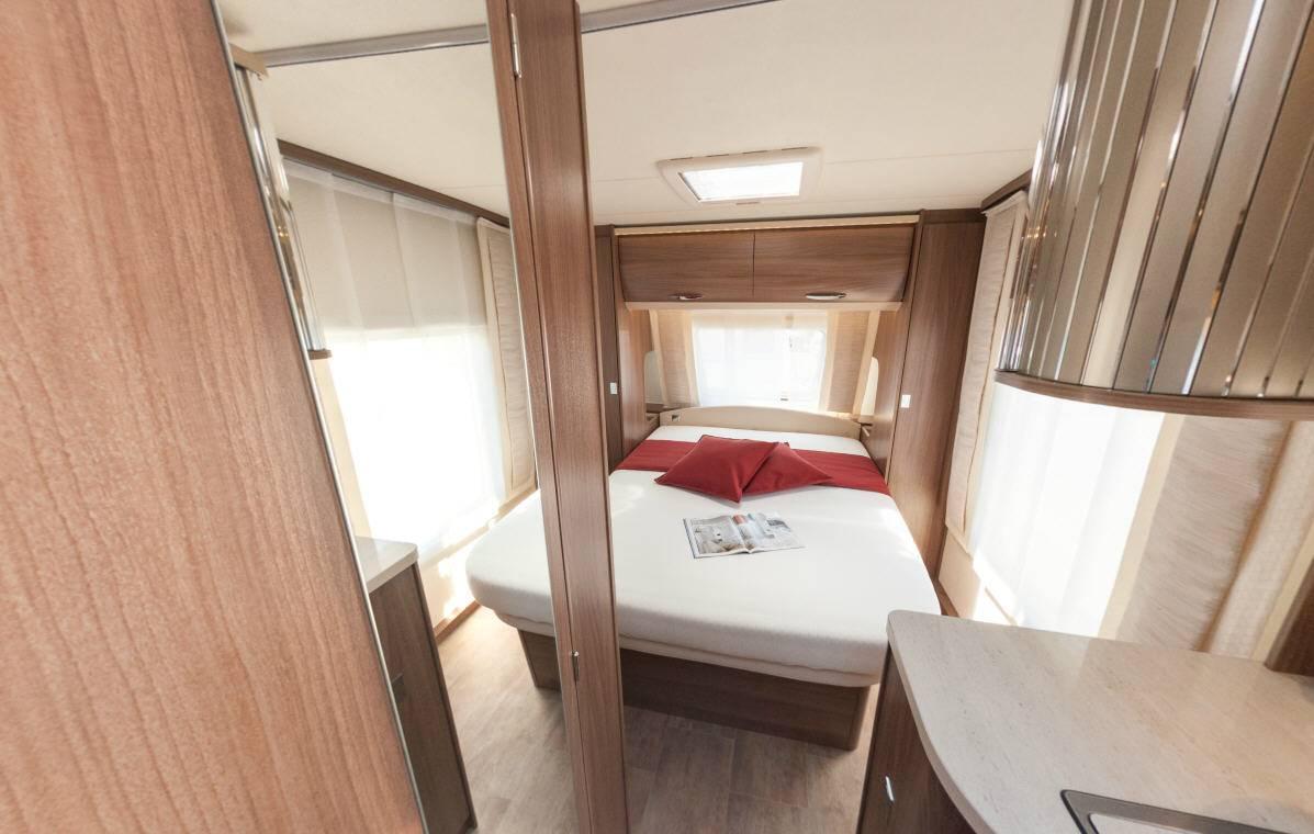 Bürstner Averso Top 455 TS - Interior