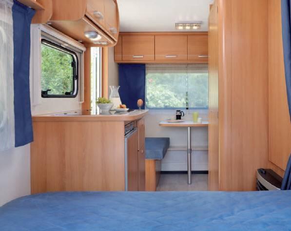 Caravelair ANTARES LUXE 380 - Interior
