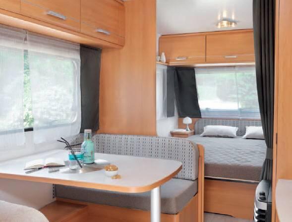 Caravelair ANTARES LUXE 460 - Interior