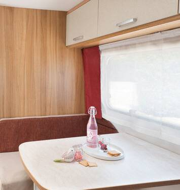 Caravelair Antares 486 - Interior