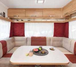 Caravelair Allegra 470 - Interior