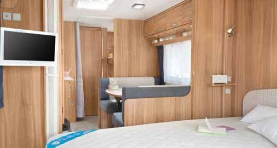 Caravelair Allegra 556 - Interior
