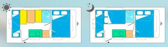Caravelair Antares 426 - Plano - Distribución